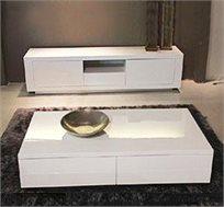 סט סלוני מזנון ושולחן VITORIO DIVANI דגם אלווירה