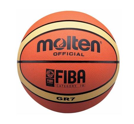 כדורסל MOLTEN גודל 7 דגם GR7