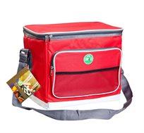 1+1 מתנה על צידנית רכה 12 ליטר לקירור ולשמירה על טמפרטורה נמוכה של מזון ושתיה בשטח CAMP&GO