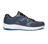 נעלי ריצה לגבר Saucony דגם COHESION 11 בצבעי אפור/תכלת