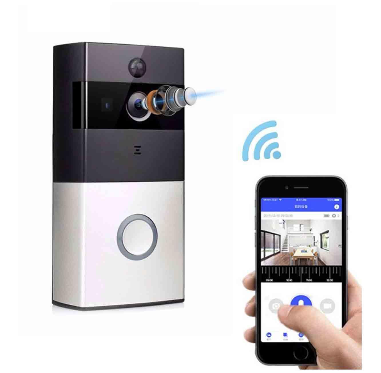 עינית אלחוטית לדלת הכוללת מצלמה באיכות HD לצפייה בסמארטפון ועוד דרך האינטרנט ומתאימה לכל דלת - משלוח חינם - תמונה 2