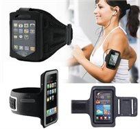 מתאמנים בכייף! נרתיק זרוע לסמארטפון בעל יציאה לאוזניה ומקום אחסון למפתח, אידיאלי לפעילות ספורטיבית