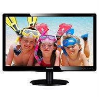 """מסך מחשב Philips בגודל 23"""", בעל פאנל IPS יציאות HDMI ו-VGA"""