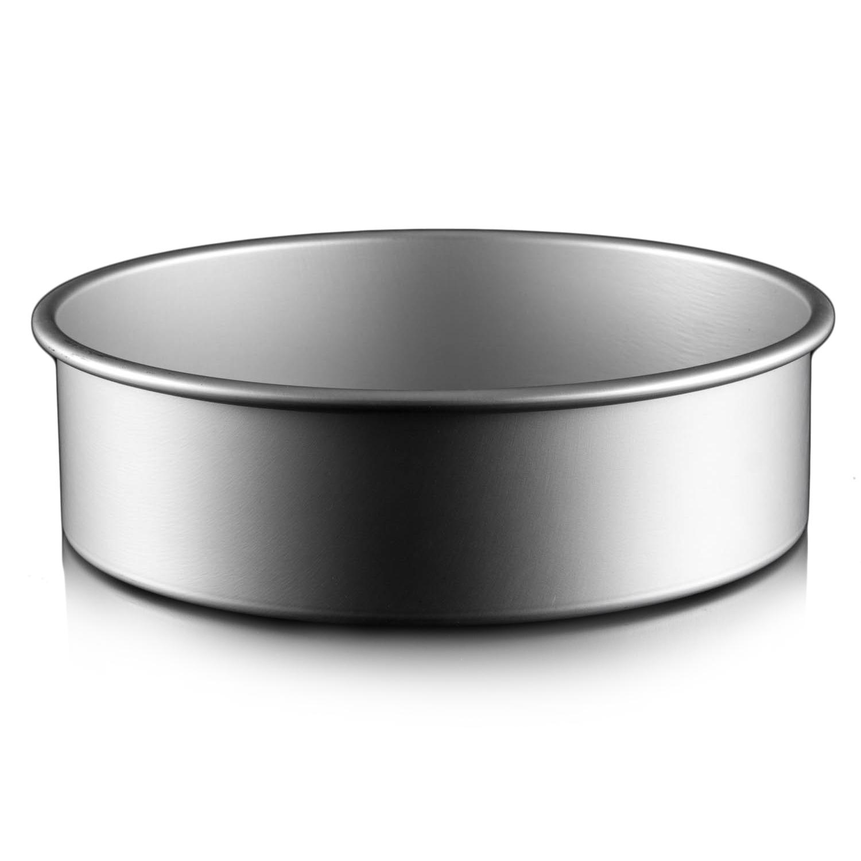 תבנית עוגה תחתית נשלפת 24X8 סמ גבוהה במיוחד ANODIZEPRO המתכון שלך להצלחה באפייה  - תמונה 2