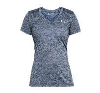 חולצת טי לנשים Under Armour - אפור מטאלי