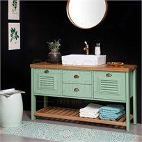 ארון אמבטיה 150 ענתיק דגם לואיז