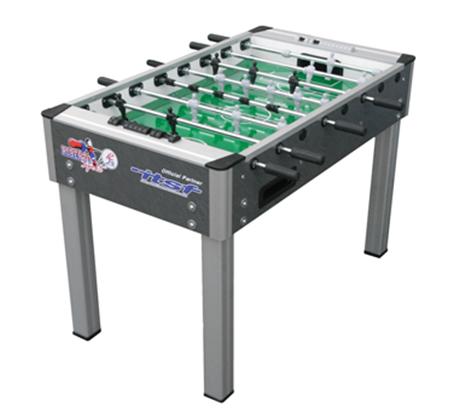 שולחן כדורגל ביתי מקצועי עם 10 כדורי משחק תוצרת איטליה דגם COLLEGE pro - תמונה 2