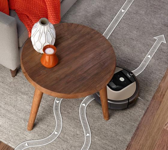שואב הרובוטי 966 iRobot roomba עם אפשרות לתכנות יומי באמצעות אפליקציה-משלוח חינם - תמונה 5