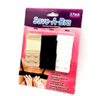 אוהבת את החזייה והמידה השתנתה? Save a Bra סט 3 מאריכי חזייה המתחברים לכל חזייה בקלות, סט רביעי חינם!