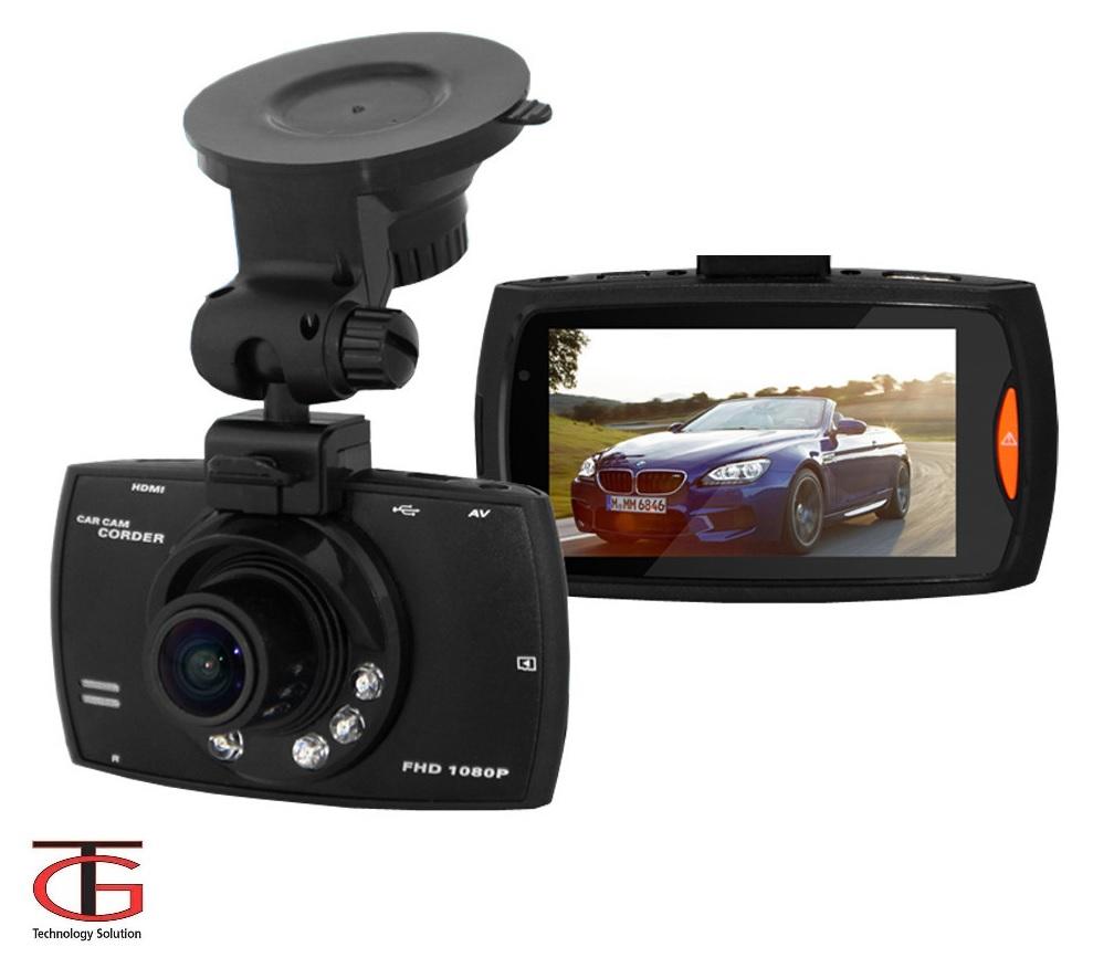 מצלמת רכב איכותית עד 1080P כולל צג ענק 2.7 אינץ' ויציאת HDMI צילום מספרי רכב באופן חד וברור כולל GS - תמונה 4