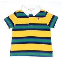 RALPH LAUREN / ראלף לורן (18-6 חודשים) חולצת פולו - פסים