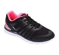 נעלי ספורט לנשים ונוער FILA דגם Taraji - שחור וורוד פוקסיה