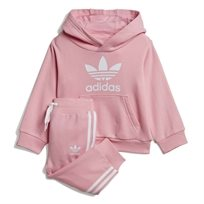 Adidas תינוקות // Trefoil Hoodie Set Light Pink