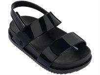 Mini Melissa סנדלים (מידות 27-19) - שחור מבריק