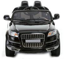 מכונית חשמלית 12V לילדים, עם חיבור לסמארטפון ושלט חכם להורים דגם אאודי Q7