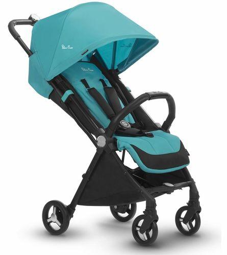 טיולון לתינוק מגיל לידה אולטרה קומפקטי Jet עם אישור עליה למטוס - כחול Bluebird