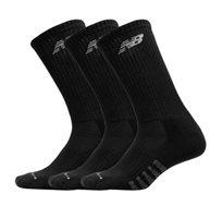 חבילת 6 זוגות גרביים שחורות ארוכות New Balance דגם N5050-801-6EUBLACK