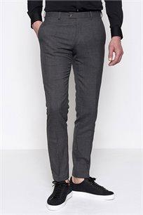 מכנס אלגנטי מצמר לגבר DEVRED דגם 4062093 בצבע אפור