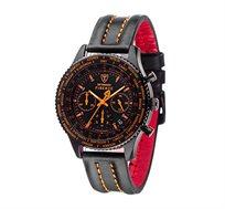 שעון כרונוגרף אנלוגי לגבר FIRENZE Orange