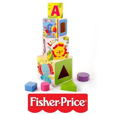 משחק התפתחות מגדל קוביות Fisher Price