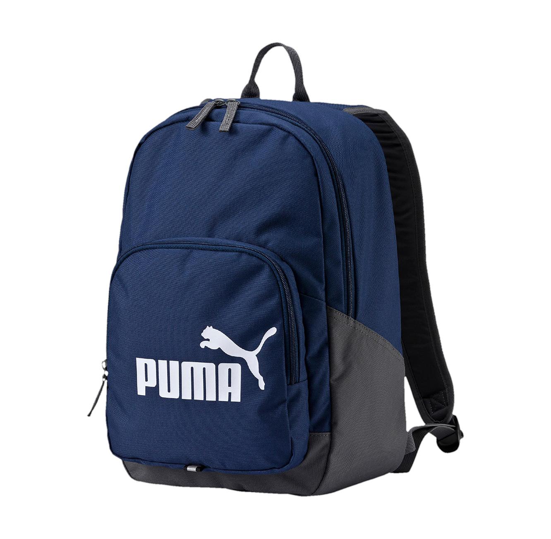 תיק פומה עם רוכסנים לשני כיוונים PUMA - כחול