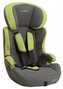 בוסטר לילדים עם רצועות בעל גב מתכוונן Keeper - אפור/ירוק
