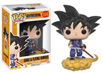 Funko Pop - Goku & Flying Nimbus (Dragon Ball Z) 109 בובת פופ