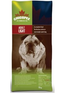 מזון לכלבים שמנים צ'יקופי 15 ק''ג במבצע! Chicopee