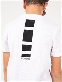 חולצת טי הדפס אחורי