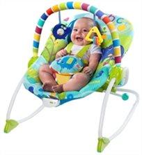 טרמפולינה לתינוק 2 ב 1 משולבת נדנדה לפעוט עם רטט דגם מרי סנשיין