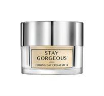 קרם יום עשיר עם SPF-15 מהסדרה Stay gorgeous למיצוק עור בוגר Soft touch