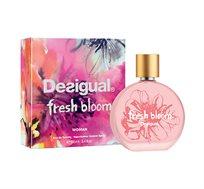 """בושם לאישה Desigual Fresh Bloom א.ד.ט 100 מ""""ל מבית Desigual + תיק טוט ציפור Desigual במתנה"""