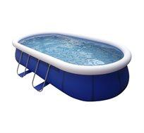 בריכת שחייה אובלית ענקית בצורת אליפסה  5.4x3.04x1.06 מ'