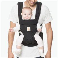 מנשא לתינוק הכל באחד מגיל לידה אומני 360 Omni - שחור PURE BLACK