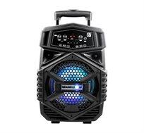 בידורית ניידת 8 אינץ מולטי פונקציונלית + מיקרופון חוטי מתנה דגם SK-1081