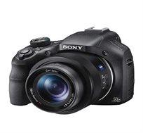 מצלמת SONY סטילס עם 20.4MP זום אופטי X50 זום דיגיטלי X200 תקשורת WIFI ו-NFC דגם DSC-HX400VB