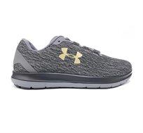 נעלי ריצה לגברים Under Armour Remix בצבעי אפור שחור צהוב