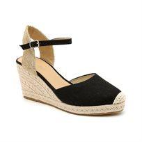Seventy Nine - נעלי אספדריל פלטפורמה גבוהות בעיצוב טרנדי בצבע שחור