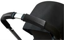 ריפודית Citygrips לעגלת תינוק דמוי עור שחור