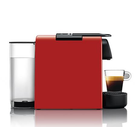מכונת קפה  NESPRESSO  אסנזה מיני בצבע אדום דגם D30 - משלוח חינם - תמונה 3