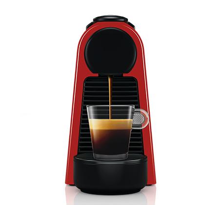 מכונת קפה  NESPRESSO  אסנזה מיני בצבע אדום דגם D30 - משלוח חינם - תמונה 4