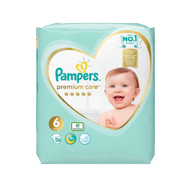 מארז 8 חבילות חיתולים Pampers Premium באריזה חדשה - תמונה 4
