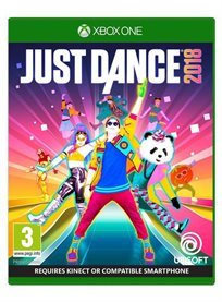 Just Dance 2018 XBOX ONE אירופאי!