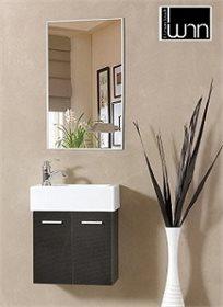 לחדר מקלחת יוקרתי! סט מעוצב לאמבטיה הכולל ארון, כיור ומראה במגוון צבעים לבחירה מבית 'חרש'