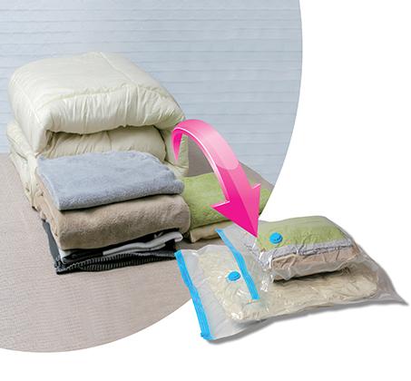 סט 10 שקיות ואקום גמישות במיוחד לאחסון מוצרי טקסטיל בגדלים שונים BPATENT - תמונה 2