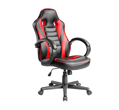 כיסא גיימר הורייזון HUNTER  אדום