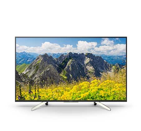 """טלוויזיה """"55 Smart TV LED Android TV ברזולוציית 4K דגם KD-55XF7596BAEP"""