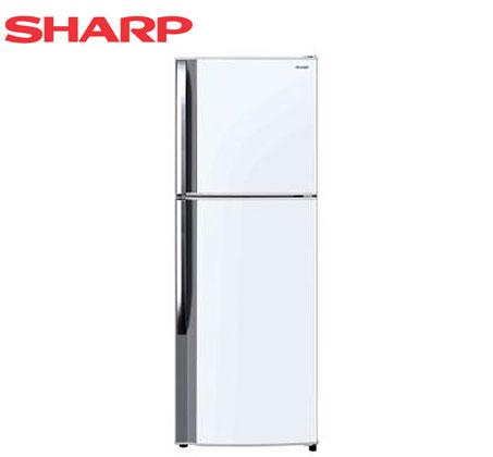 נפלאות מקרר 2 דלתות מקפיא עליון 223 ליטר תוצרת Sharp דגם SJ2126 OQ-78