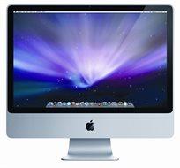 """מחשב Apple Imac Mb418ll All In One גודל 24"""" מעבד Intel Core 2 Duo זיכרון 4Gb דיסק קשיח 640Gb - מוחדש"""
