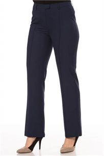 מכנסיים מחויטים מתרחבים בשני צבעים לבחירה